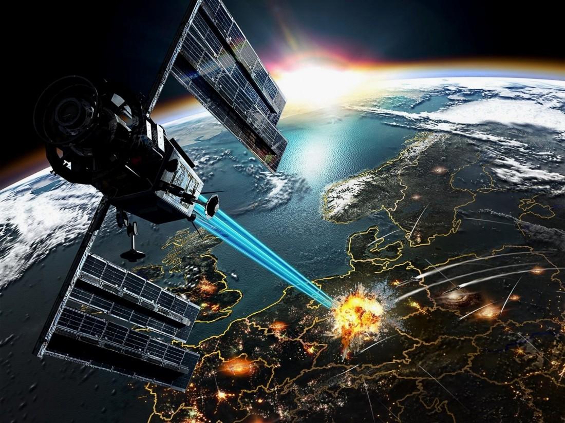 Современные технологии позволяют атаковать уже из космоса