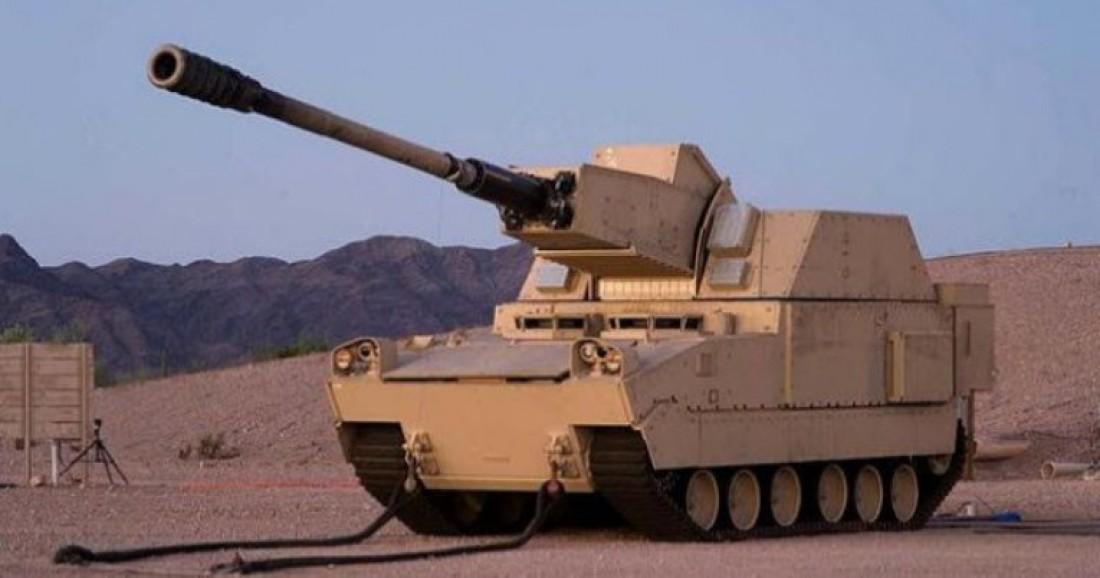 Наверное, так должны были выглядеть танки в рамках проекта FCS
