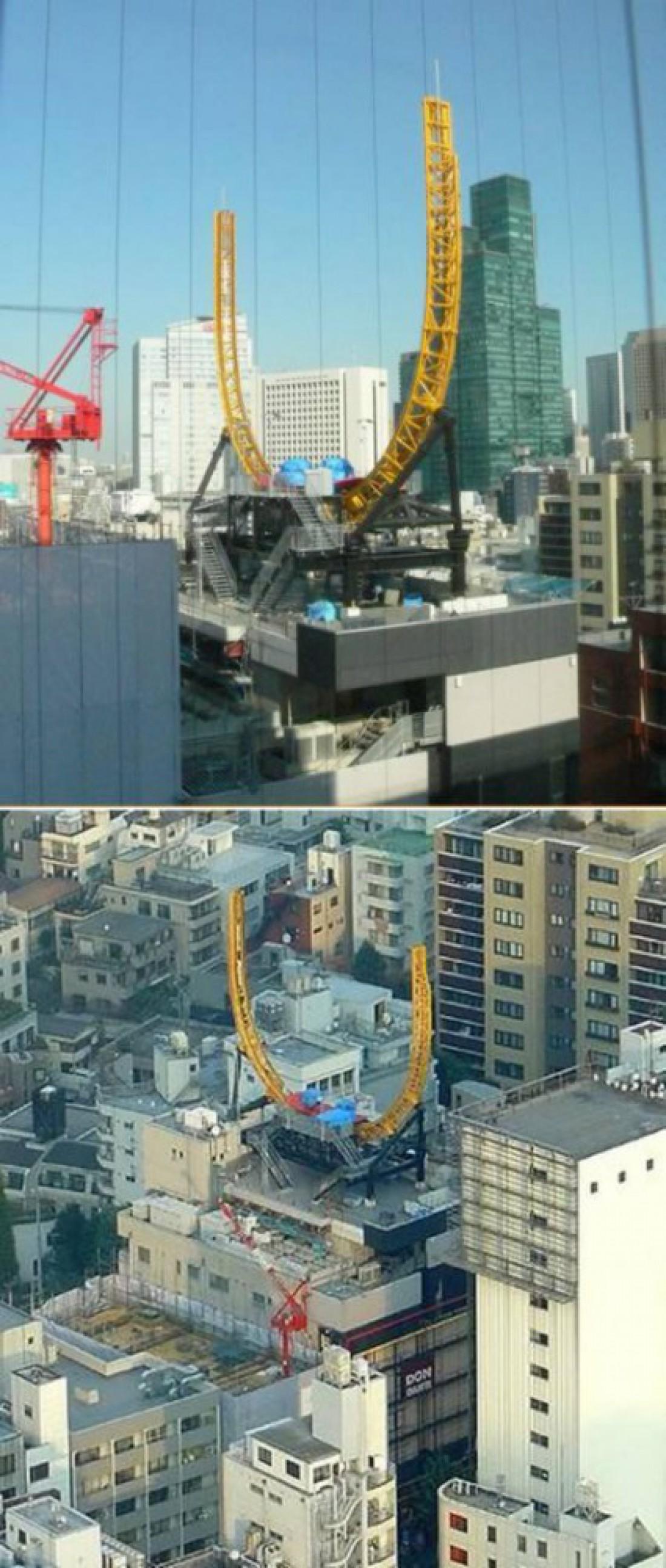 Японцы, боясь расшатывания здания, так и не открыли Half Pipe