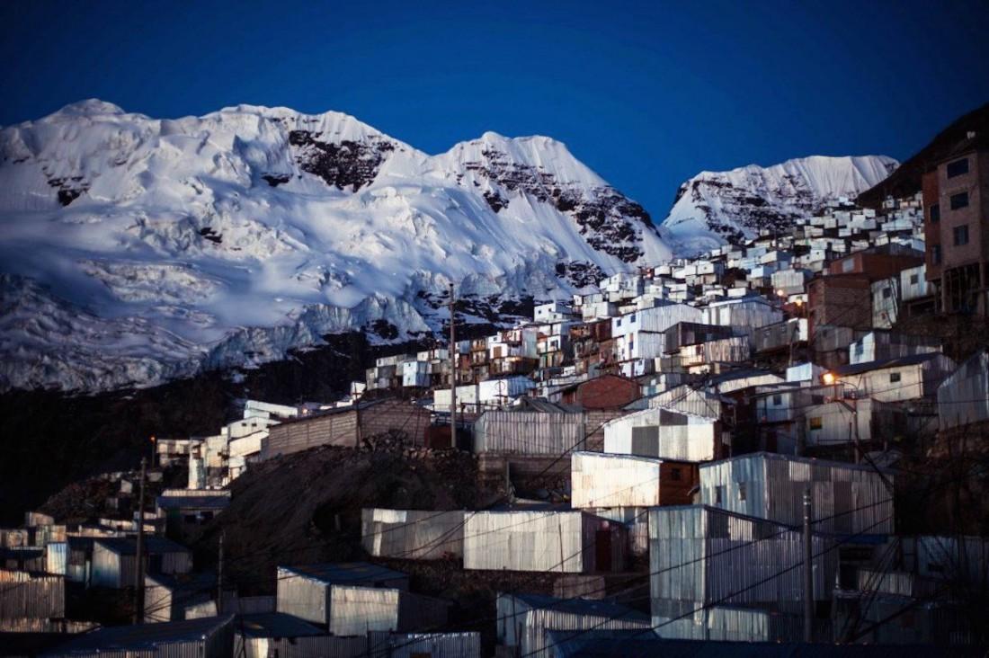 Ла-Ринконада — город, расположенный на никогда не тающем леднике
