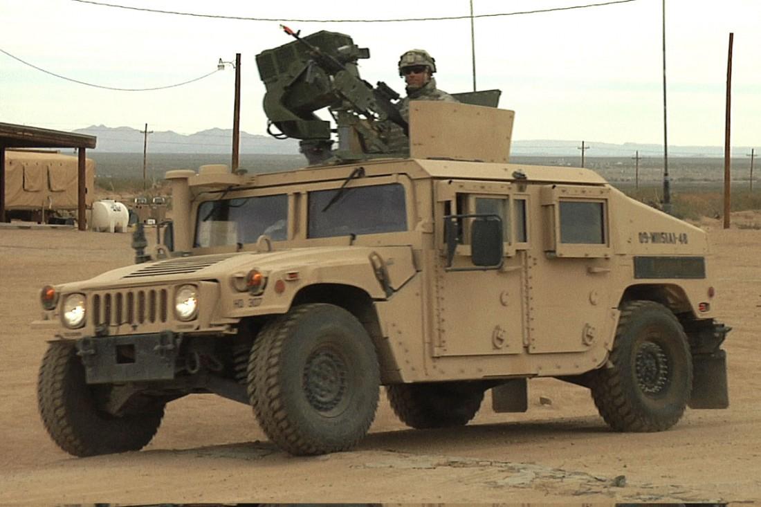 Легендарный американский военный внедорожник Humvee