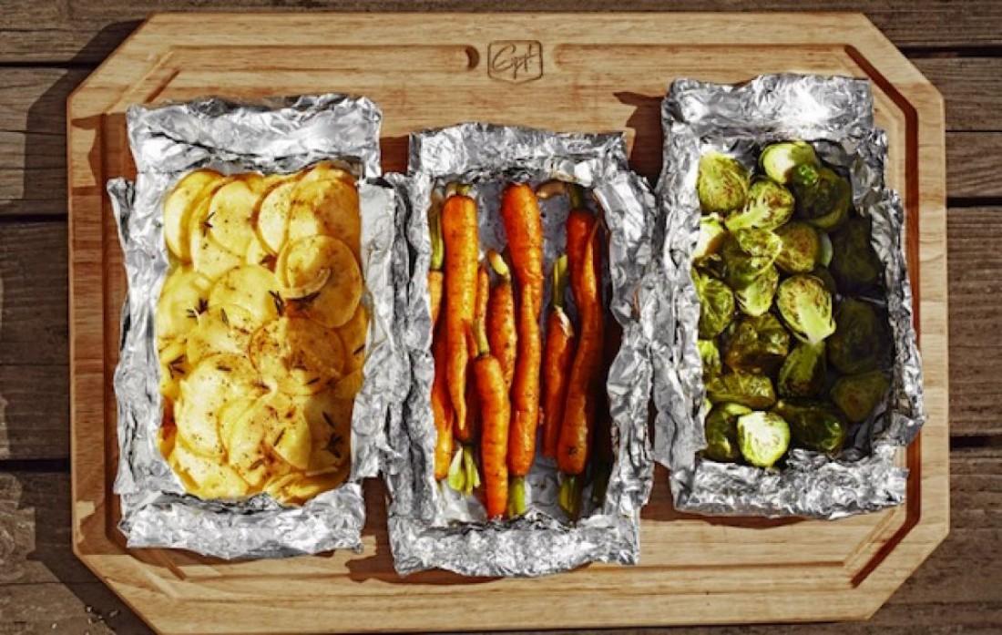 Замотай еду в фольгу — и она надолго сохранит свое тепло