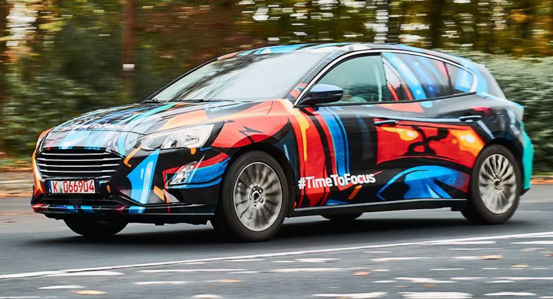 Обновленный Ford Focus. Говорят, появится его