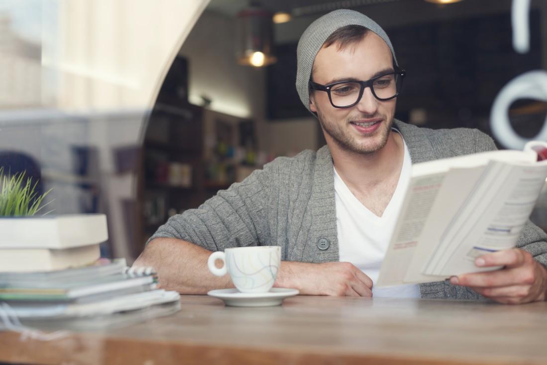 Читай. Чтение сделает из тебя человека