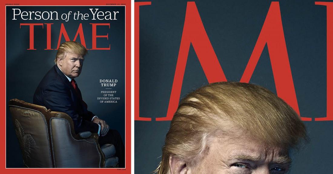 Дональд Трамп — человек года по версии Time