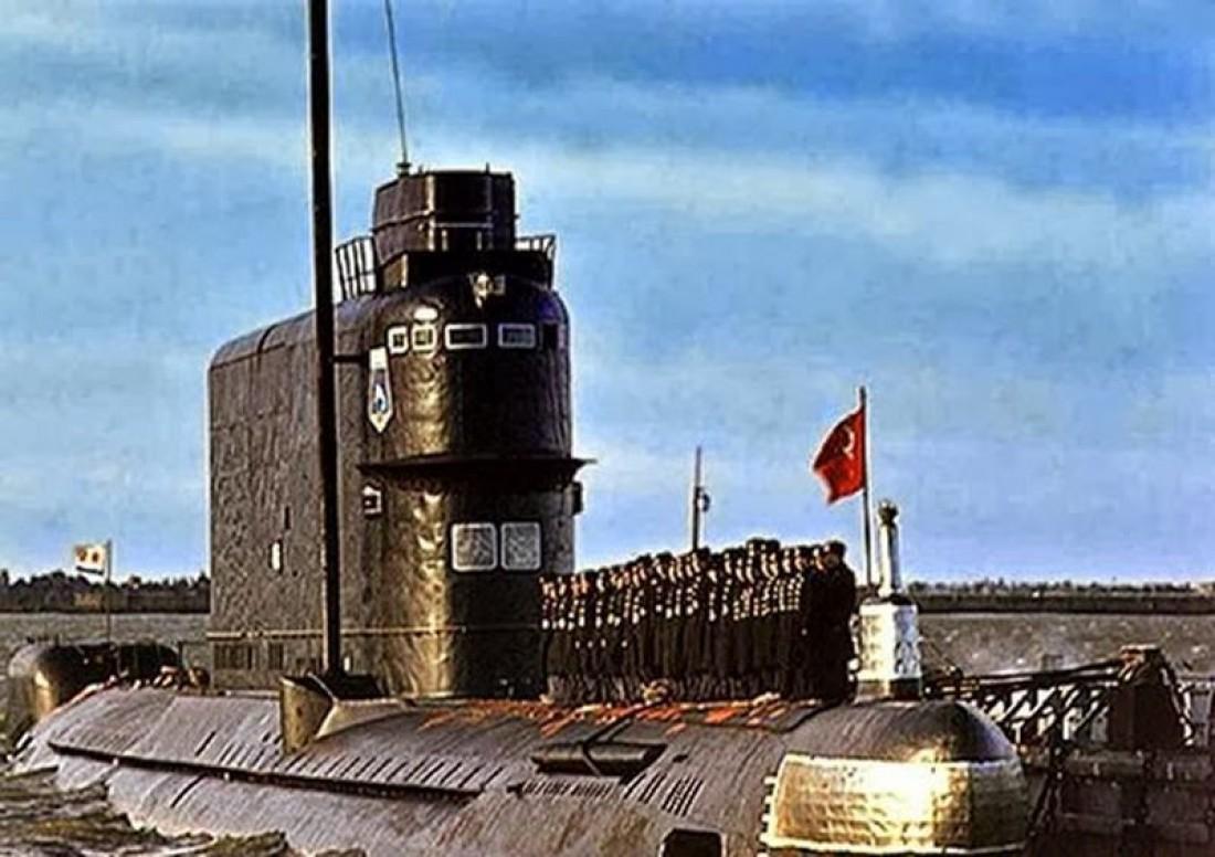 Одна из субмарин проекта 629. В него же входила злосчастная К-129