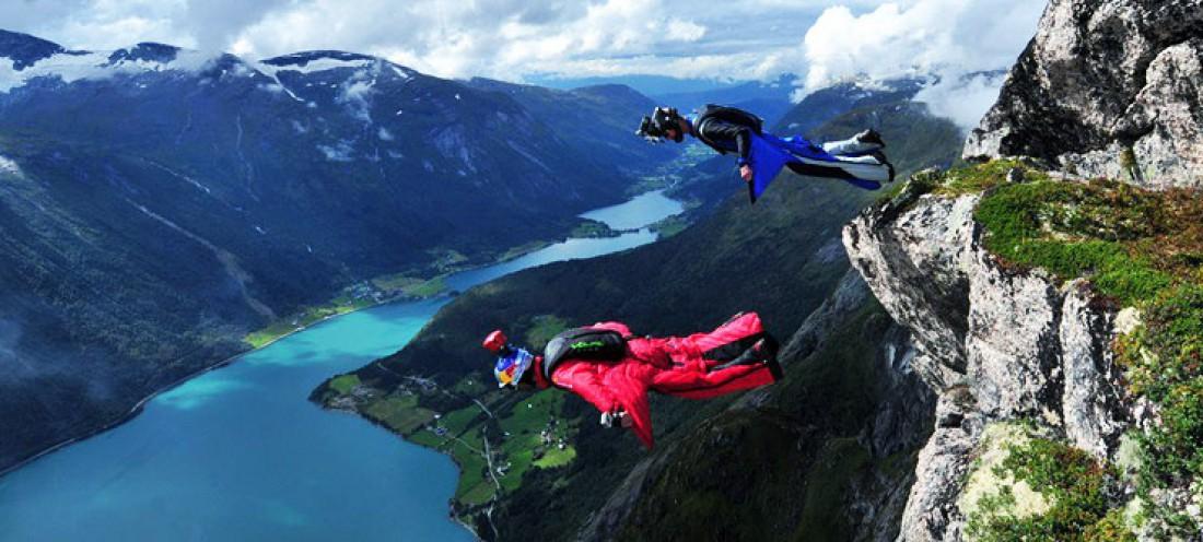Норвегия красивее, если смотреть на нее сверху