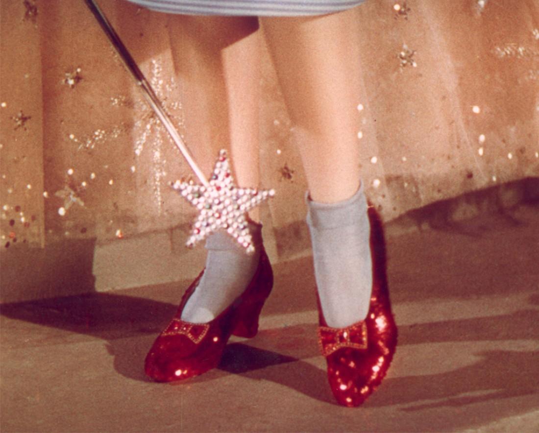 Рубиново-красные туфельки Дороти