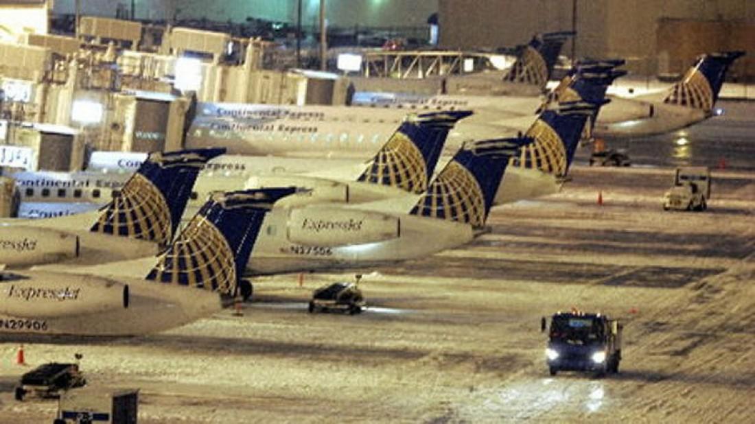 В аэропорту Кливленда работает самый халатный персонал