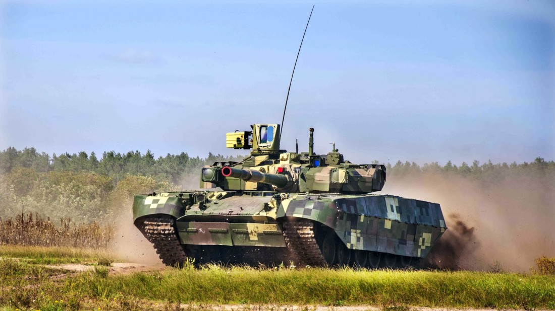 БМ Оплот. Мощнейшый украинский танк, признанный одним из лучших в мире