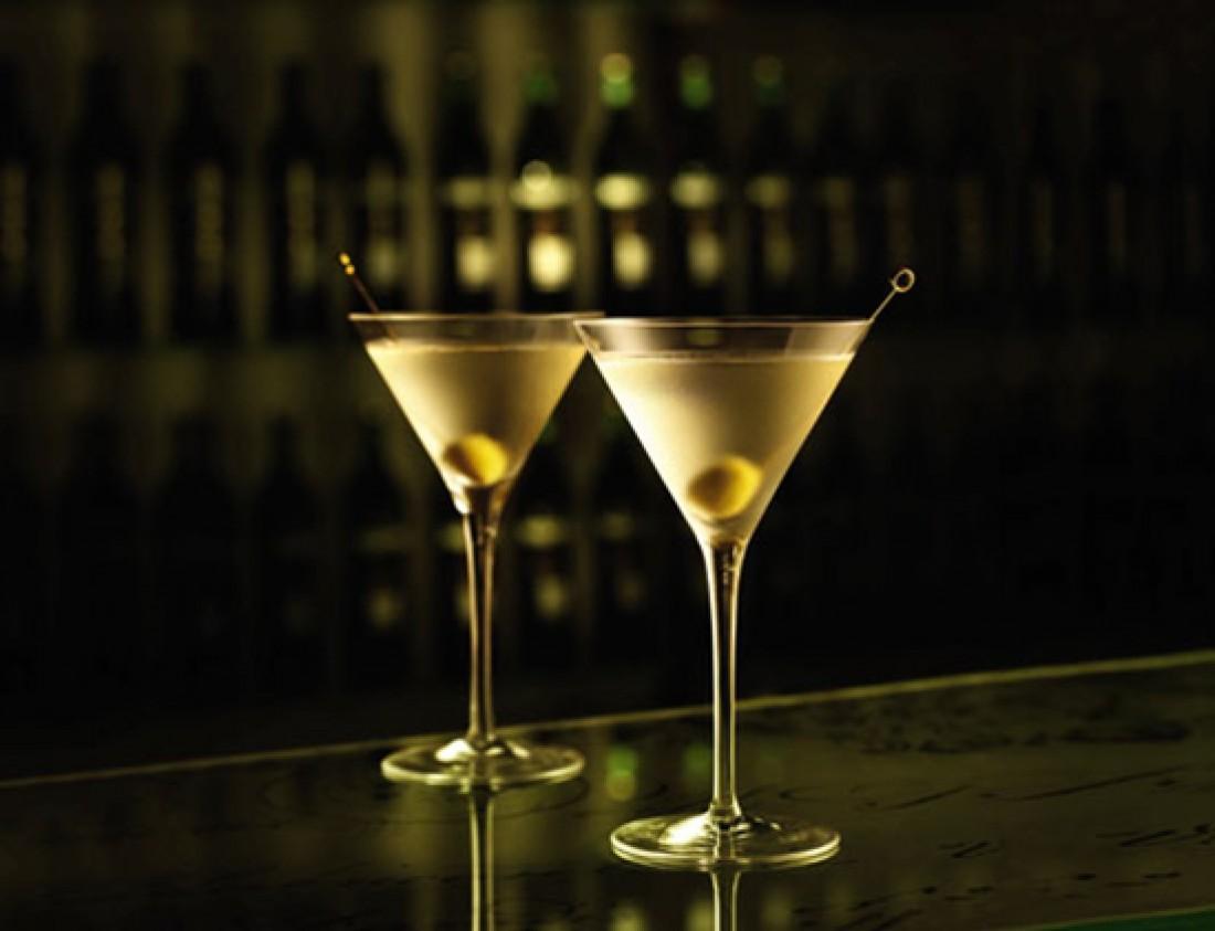 Бокалы для джина с мартини
