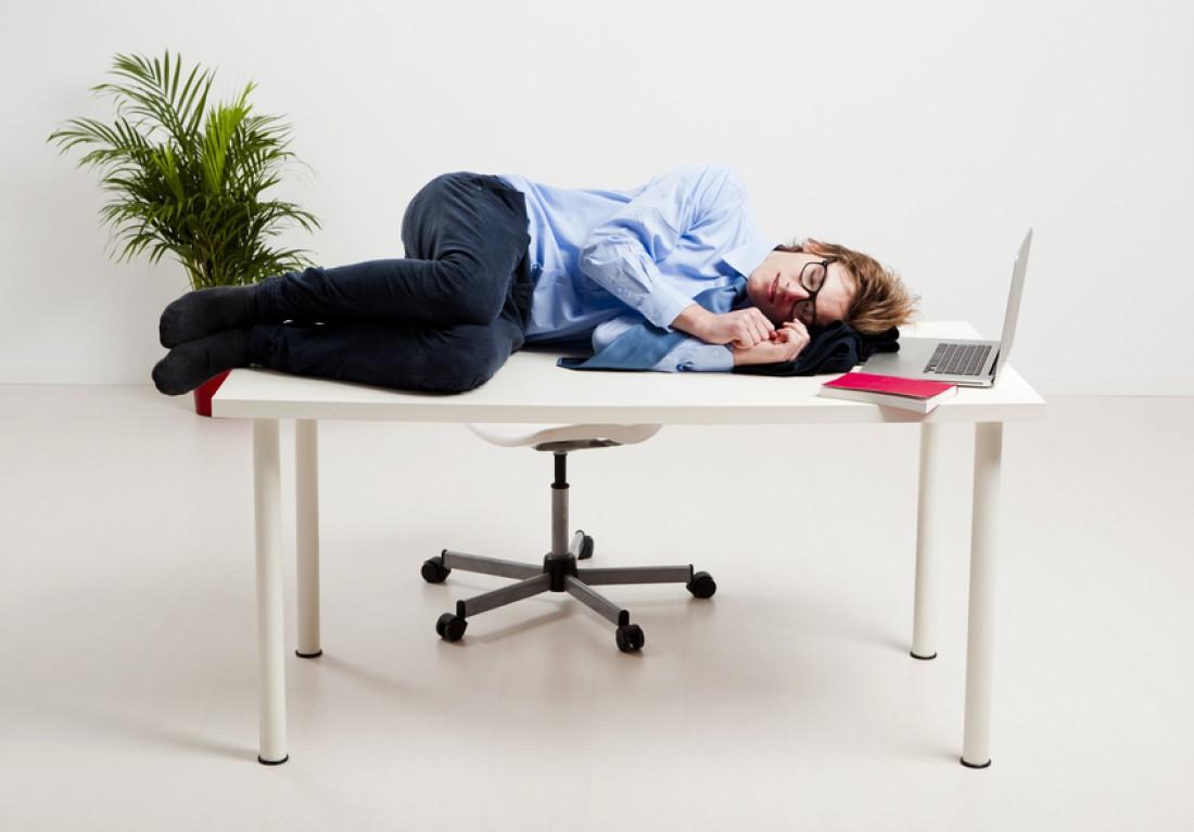 Рвет желание работать? Ляг поспи — и все пройдет
