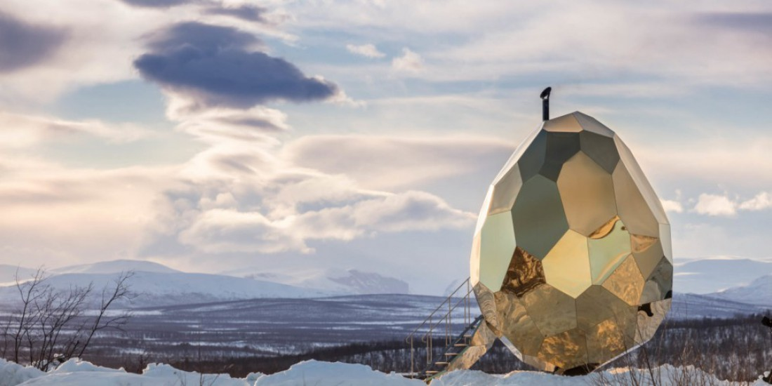 Чудо-сауна расположена на севере Швеции