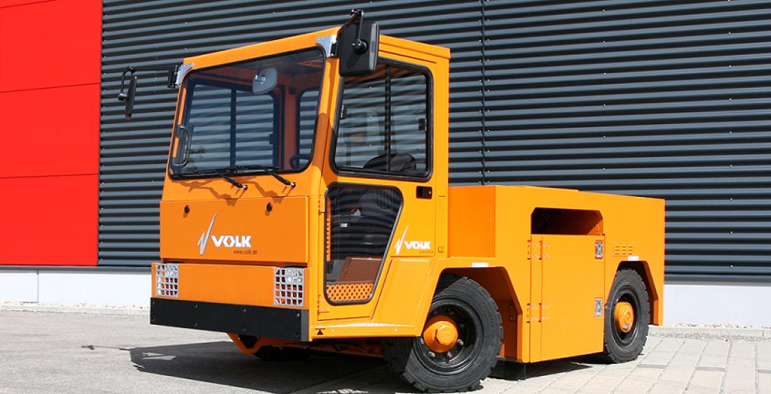 Volk EFZ 100 N. Помогает при транспортировке багажа или самолетов