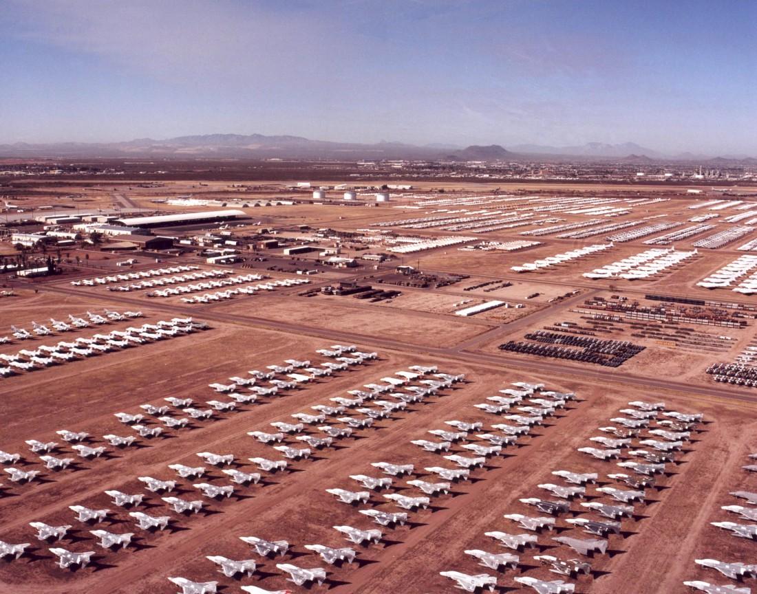 На Davis-Monthan Air Force покоится порядка 5000 списанных единиц