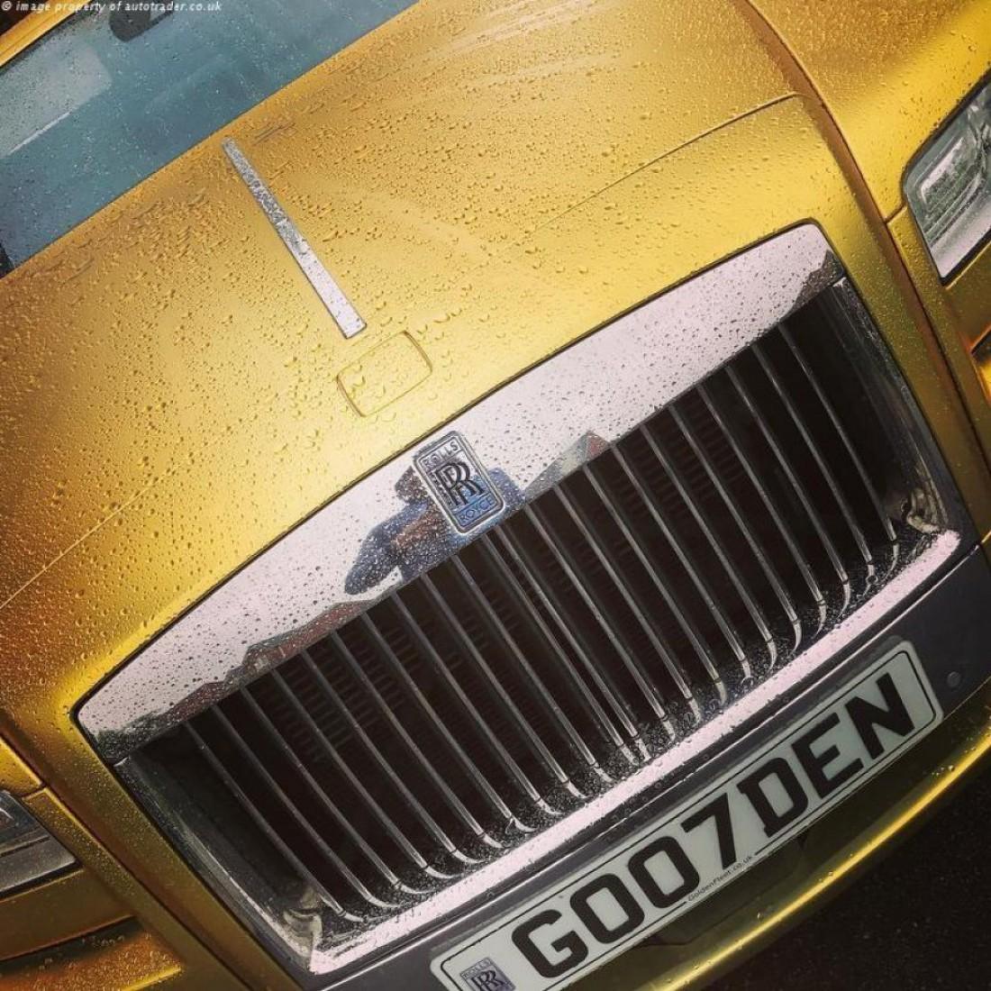 Золотой Rolls-Royce Ghost. В слезах. Узнал, что у тебя нет 16 биткоинов