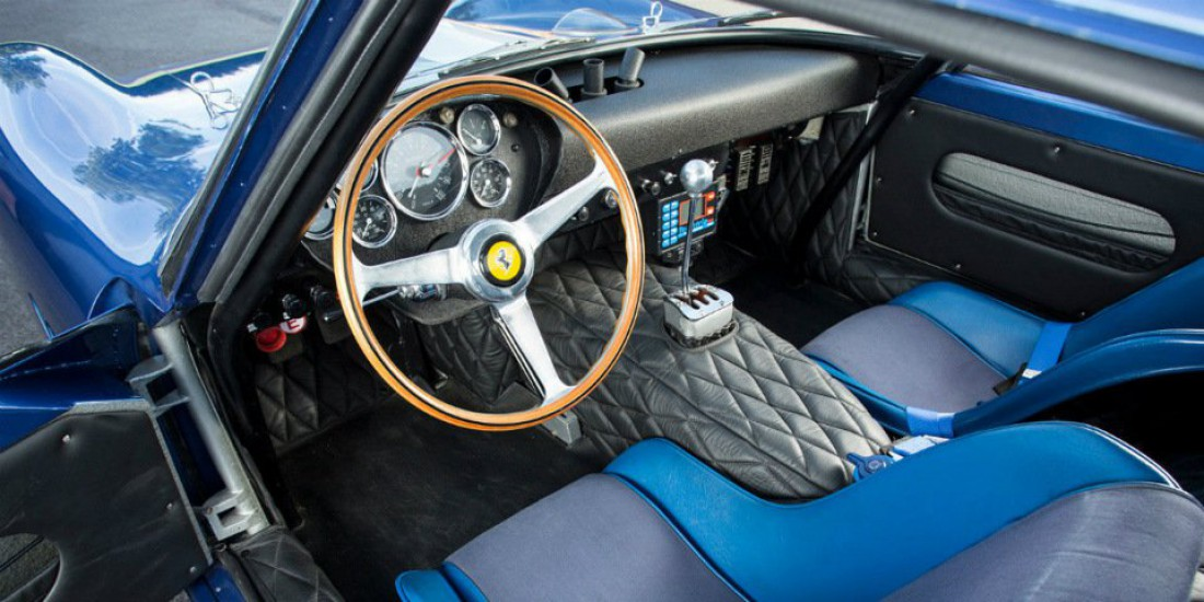 Салон Ferrari 250 GTO 1962-го года