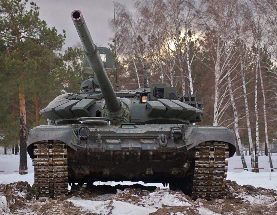 Одна из модификаций Т-72