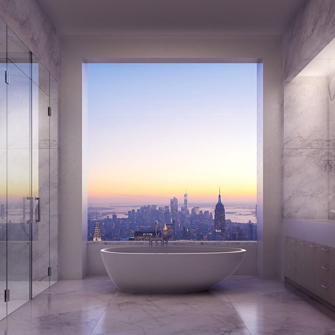 Так выглядит ванная, в которой хочется валяться часами