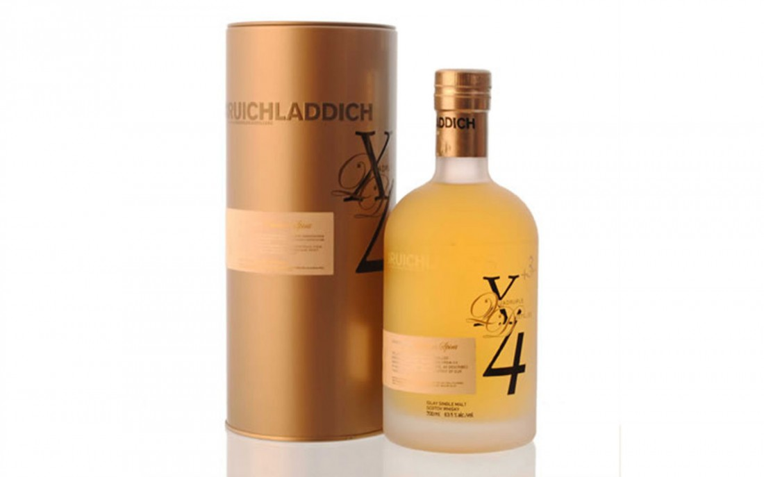 Виски Bruichladdich X4 Quadrupled можно использовать вместо бензина