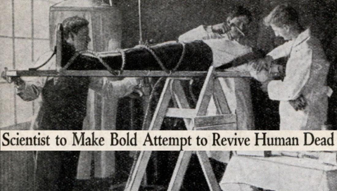 Американский ученый Роберт Корниш пытался создать второго Франкенштейна