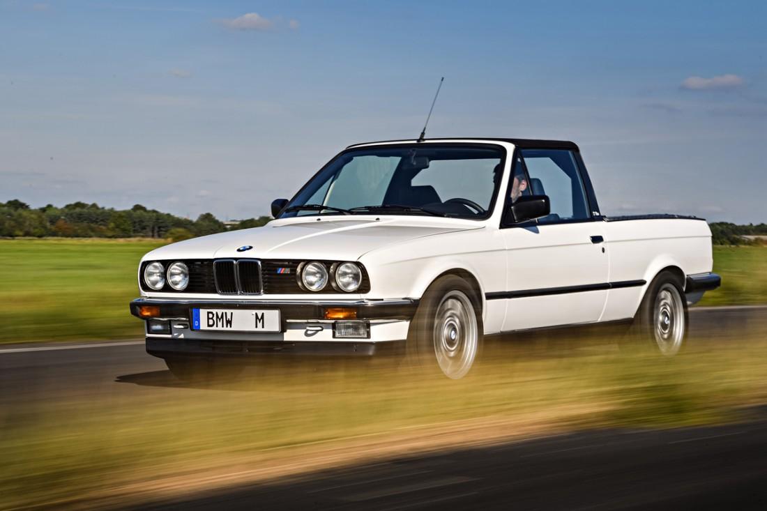 BMW M3 Pickup (E30) (1986) — пикап, обслуживавший гонки BMW