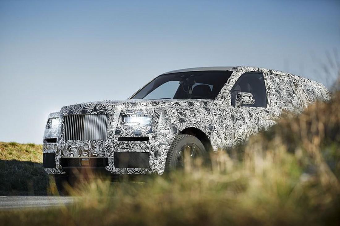 Rolls-Royce Project Cullinan. Построят на алюминиевой платформе