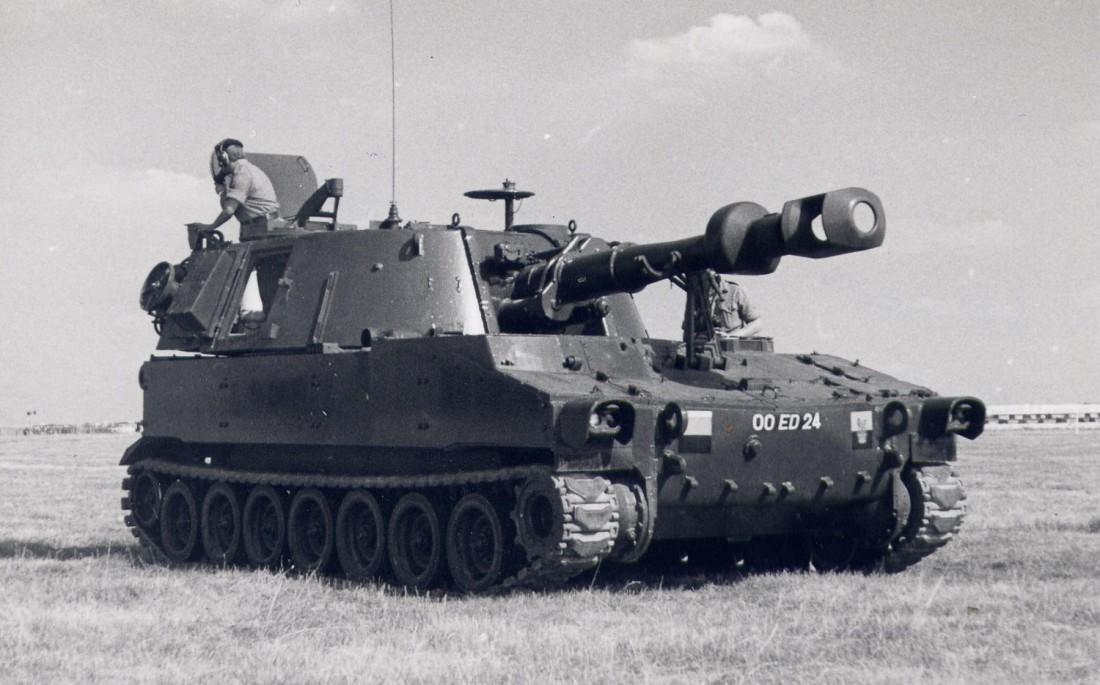 Американская САУ M109 Howitzer