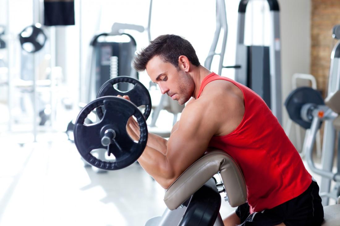 После травмы начинай тренироваться с легкими весами