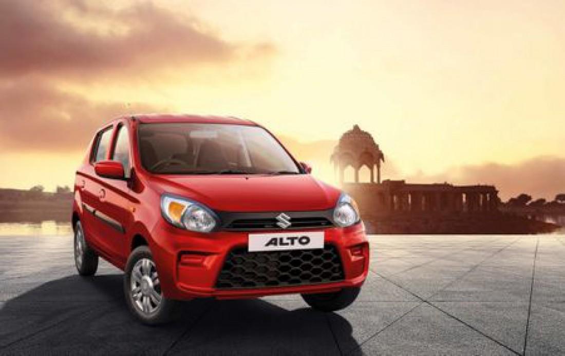 Индия - Maruti Suzuki Alto (Продано 234 471 авто)