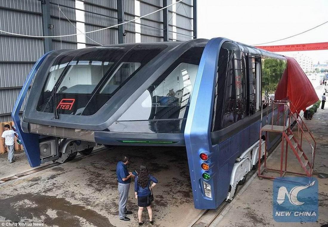 TEB-1 катается пока только в одном китайском городке — Циньхуандао