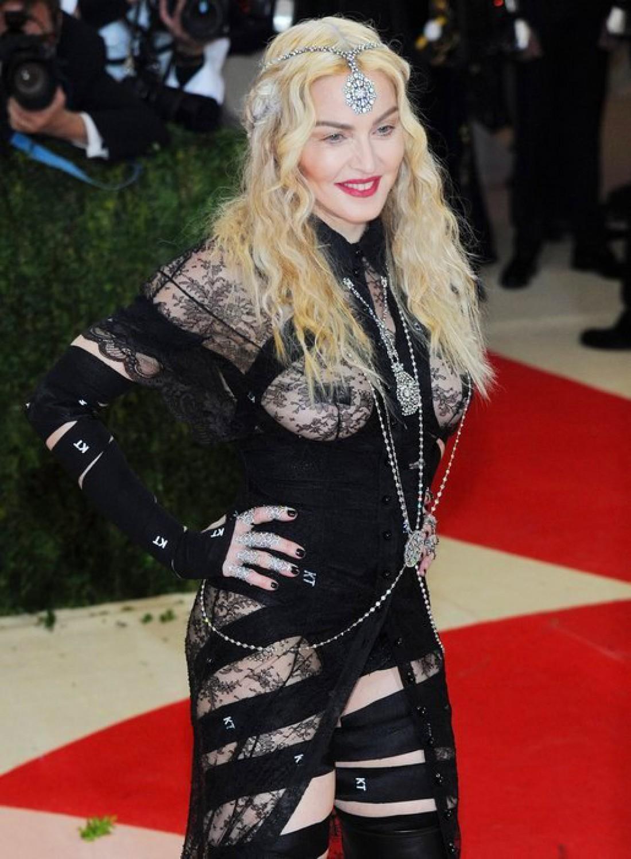 Мадонна на Met Gaka 2016