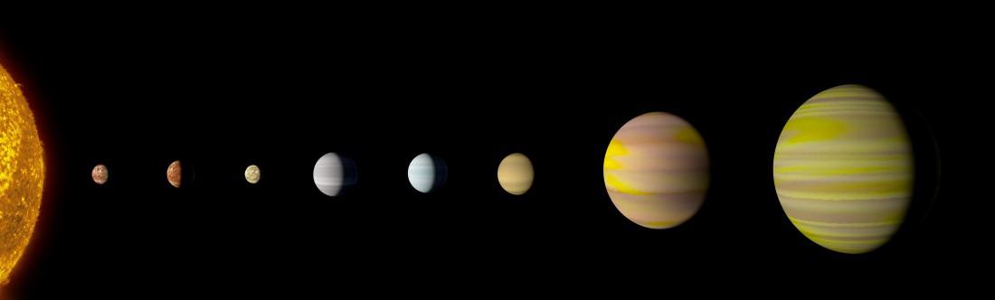 Планета Kepler-90i примерно на 30 процентов больше Земли