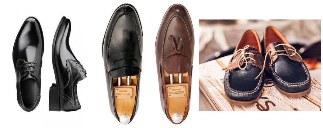 В твоем гардеробе должны быть классические туфли, а также лоферы или топсайдеры