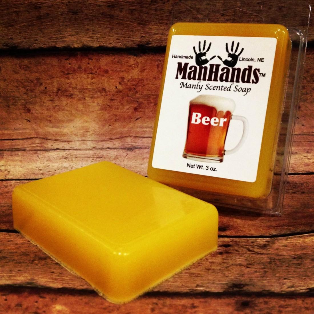 Man Hands Soap — средство гигиены с самым мужским ароматом