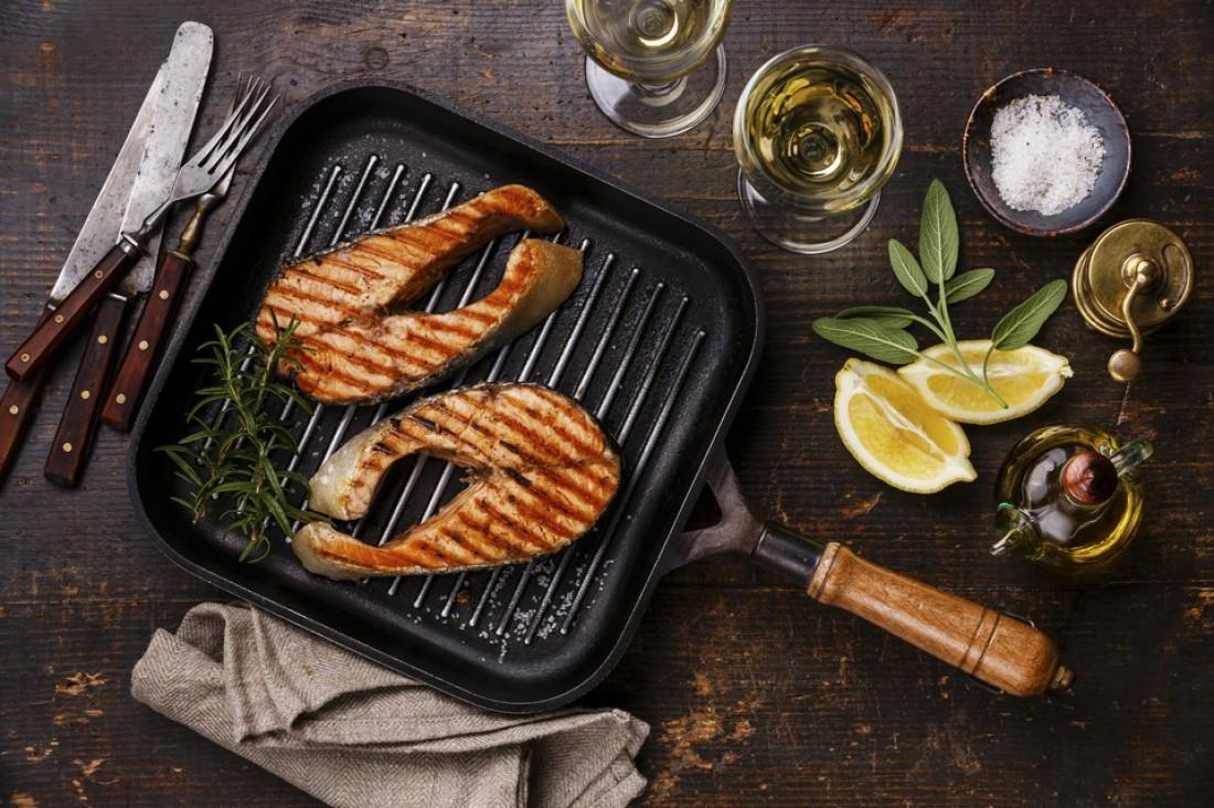 Как быстро похудеть? Ужинай лососем, приготовленным на гриле