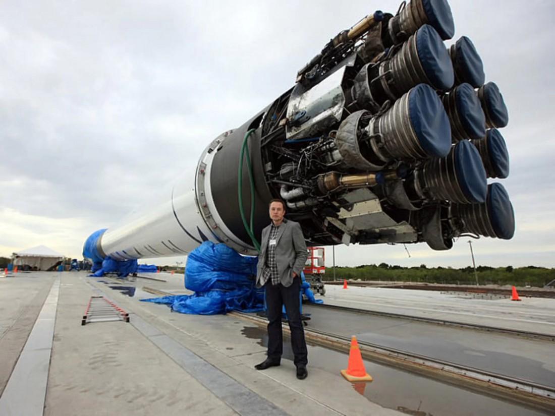 Амбициозный Элон Маск и одна из его чудо-ракет