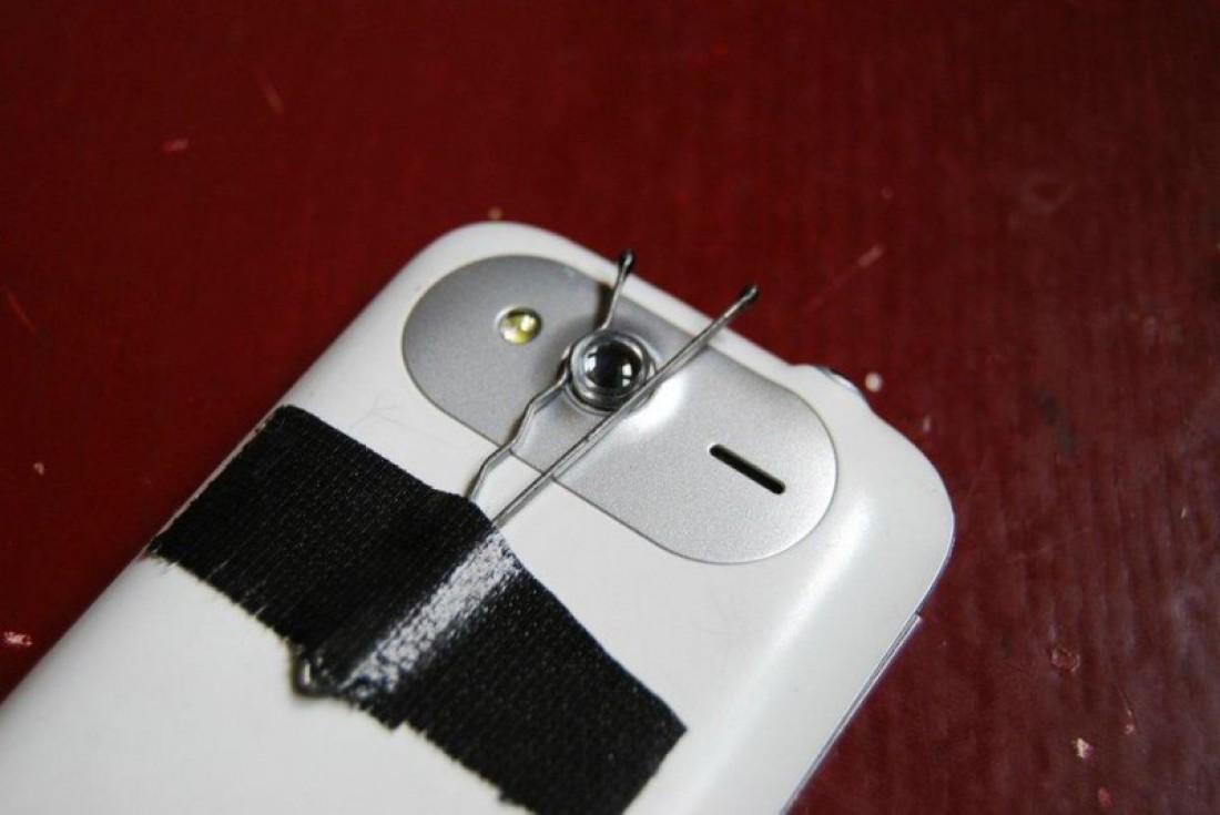 Способ закрепить линзу у объектива смартфона