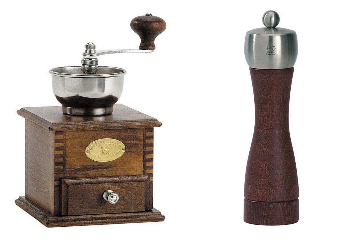 Peugeot начинали с производства кофемолок и перечниц
