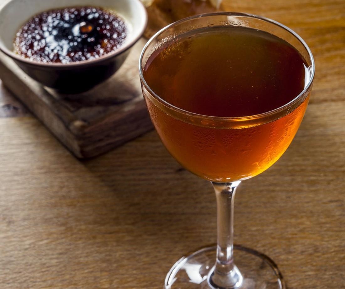 Манхеттен по рецепту лондонских барменов — это виски с печенкой птицы