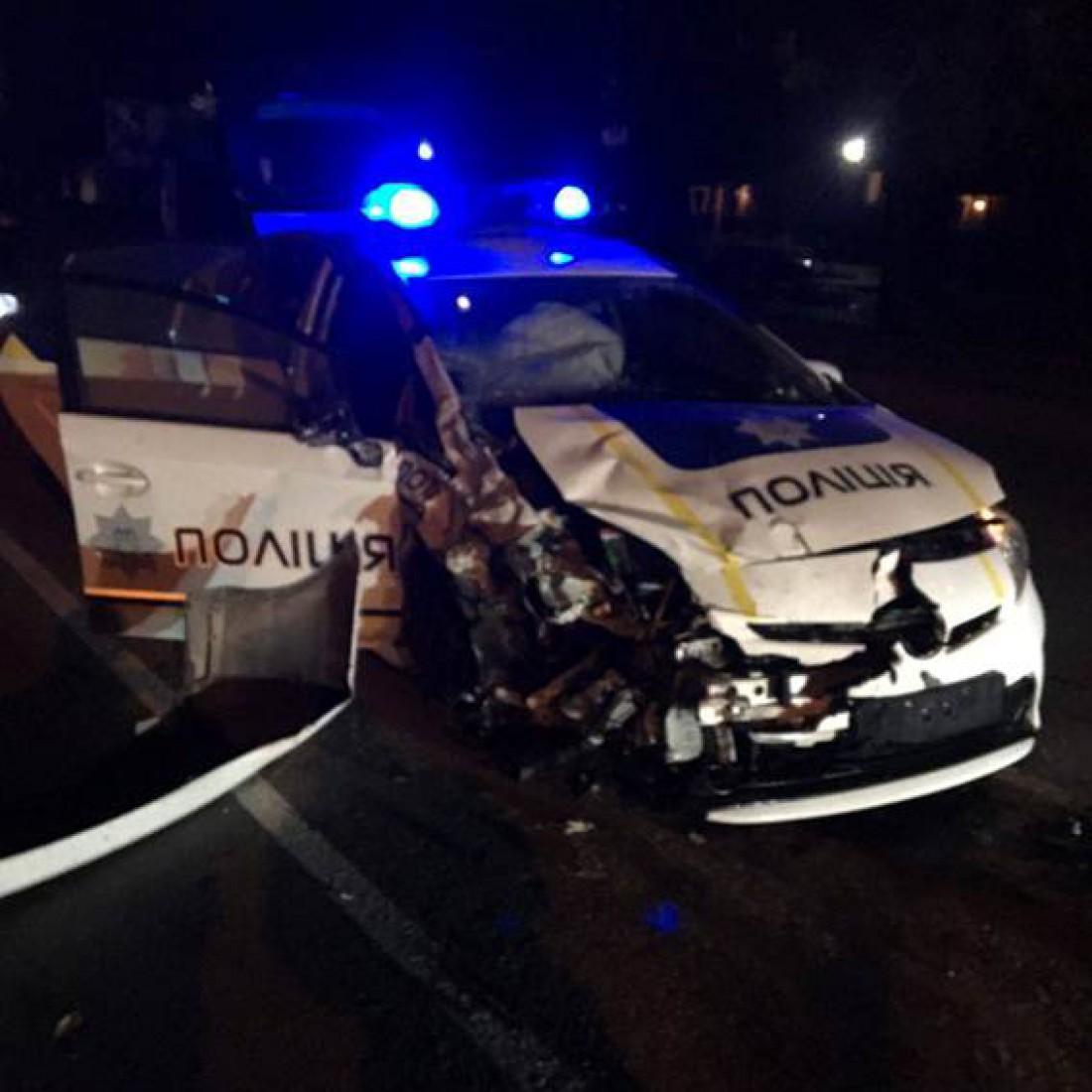 Смертельно ДТП в Хмельницком с участием авто полиции