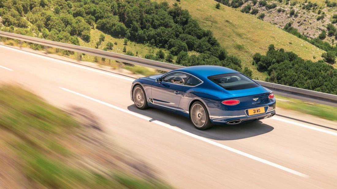 Расход топлива Bentley Continental GT 2018 — 9,86 км на 1 литр