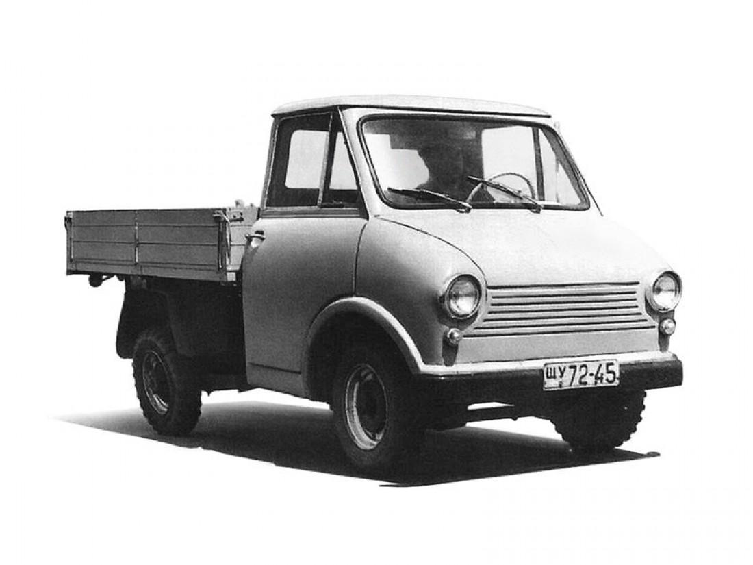 ЗАЗ-970. Грузоподъемность — 350 кг