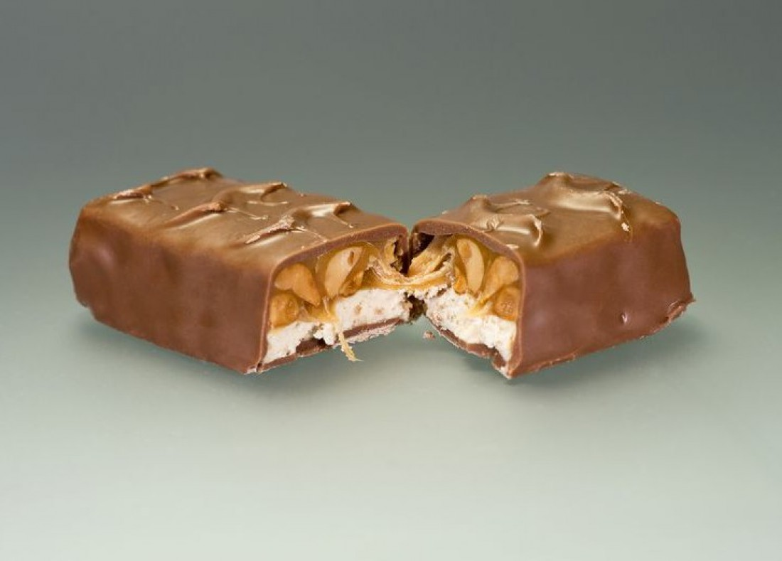 Ореховые батончики = много сахара и калорий
