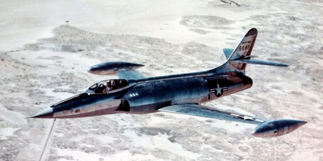 Lockheed XF-90. Его обскакал конкурент XF-88 Voodoo