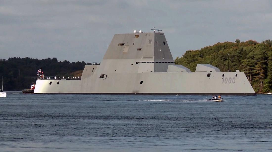 USS Zumwalt (DDG-1000). Делает ноги из штата Мэн