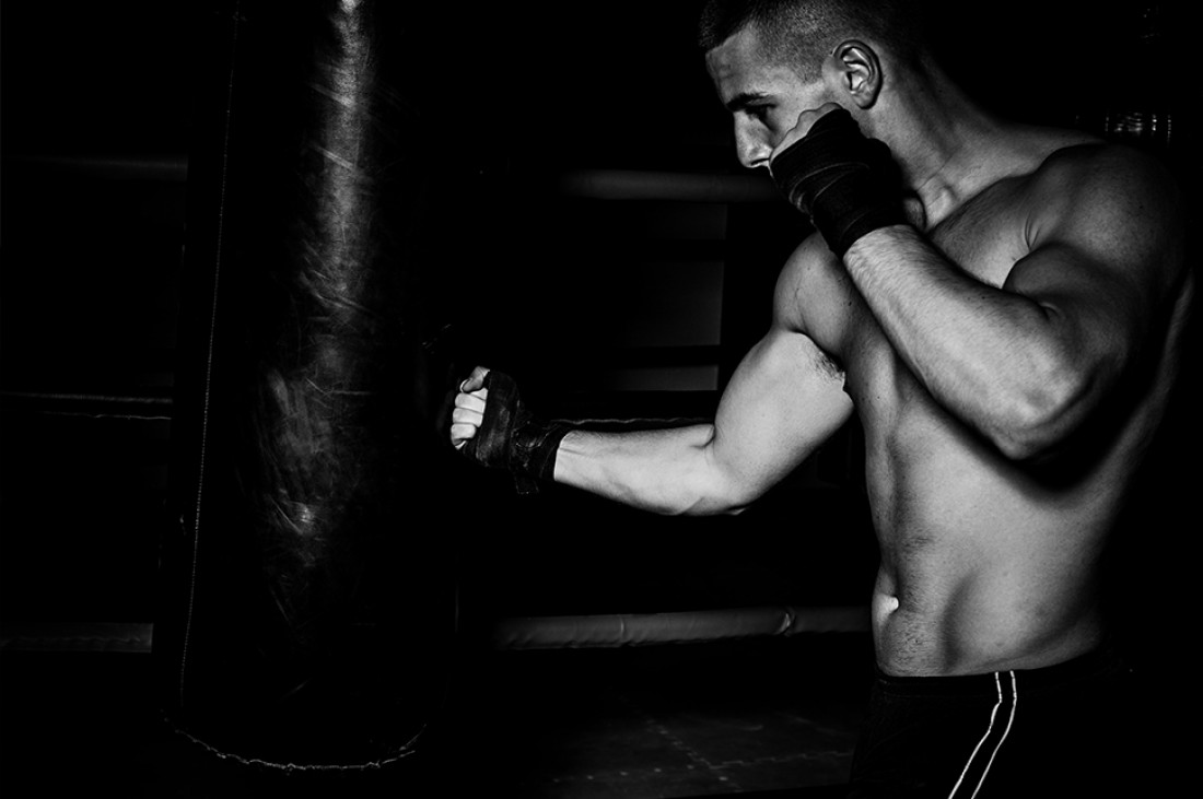 В боксе только сильные — как духом, так и ударами
