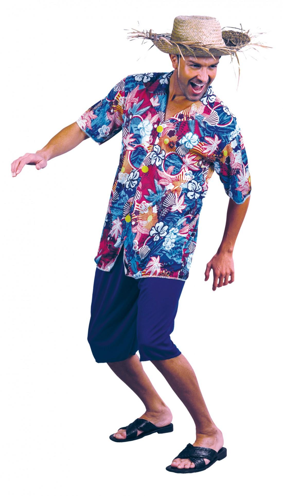 Гавайский образ — это когда на тебе панама или соломенная шляпа
