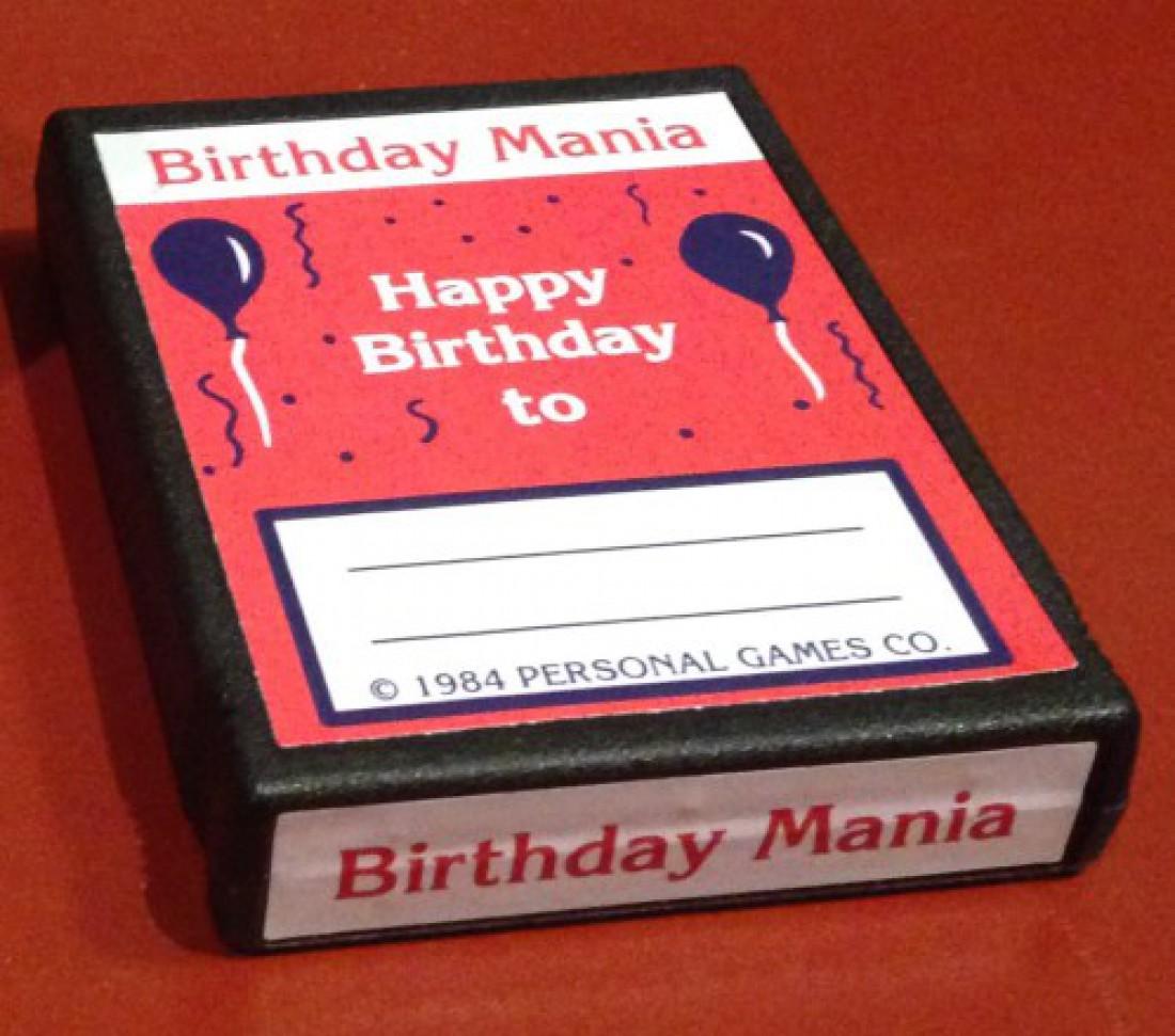 Birthday Mania — Atari 2600. Цена — $35 тысяч