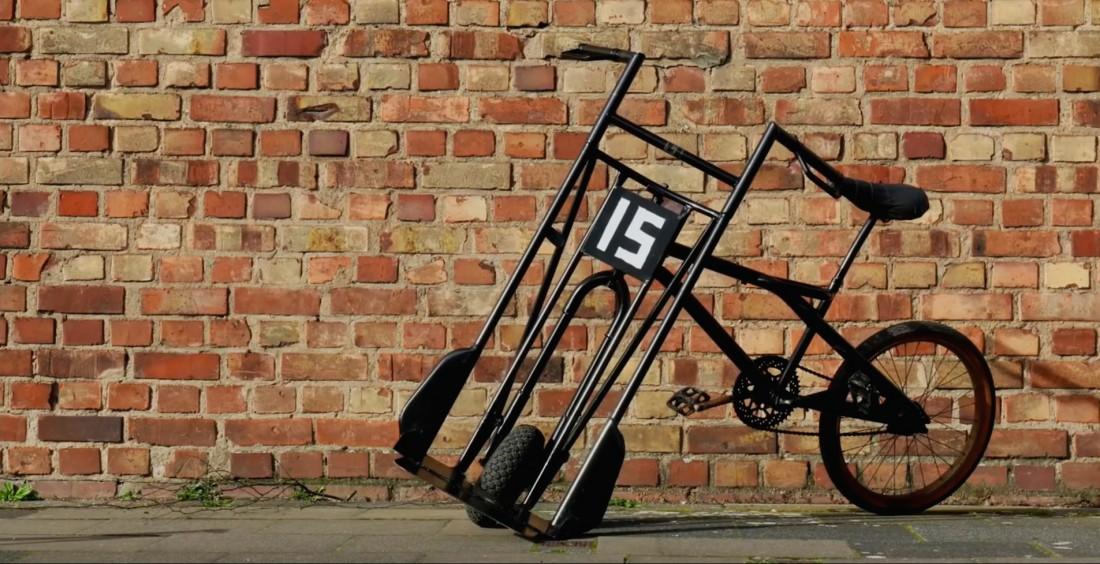 Немецкий велосипед-пивовозка. Полный кастом-шоп, никакой серийки